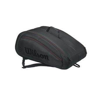 Wilson Fed Team 12 Pack Black/Red