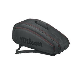 Wilson Fed Team 6 Pack Black/Red