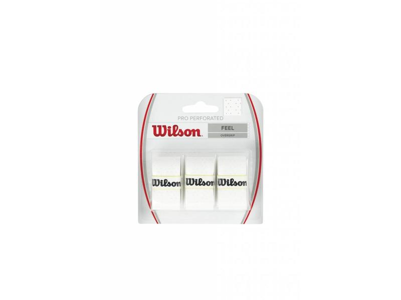 Wilson Pro Overgrip Perforated 3 pack(Various Colors)