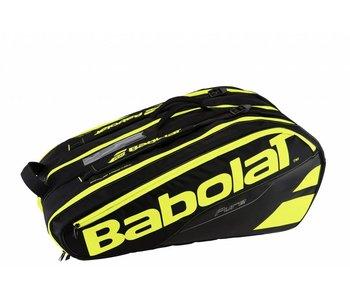 Babolat Racket Holder x12 Pure Black/Yellow