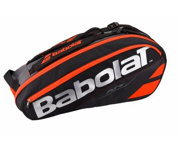 Babolat Racket Holder x6 Pure Black/Red