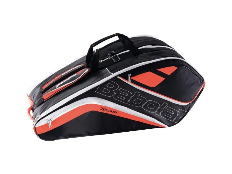 Babolat Team Line Racket Holder x12 Fluo Red