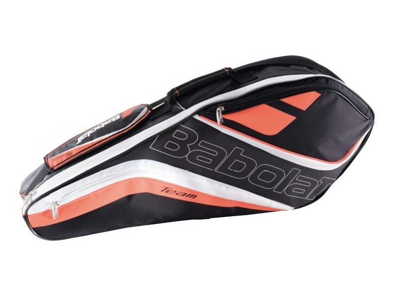 Babolat Team Line Racket Holder x3 Fluo Red