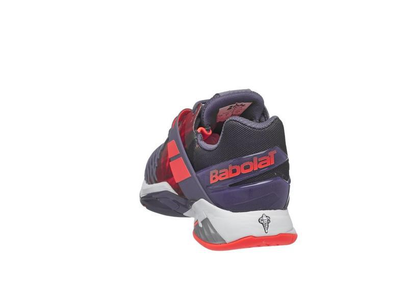 Babolat Propulse Fury Purple/Pink Women's Shoes