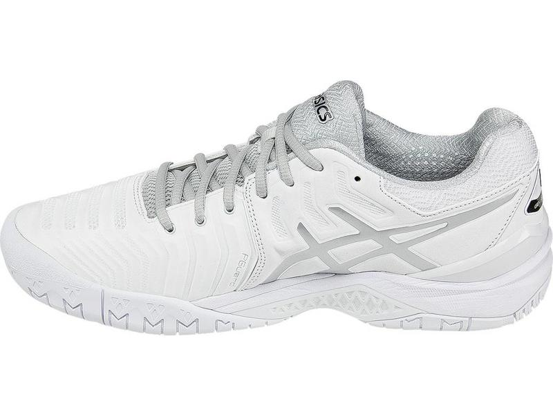 Asics Gel Resolution 7 White/Silver Men's Shoes