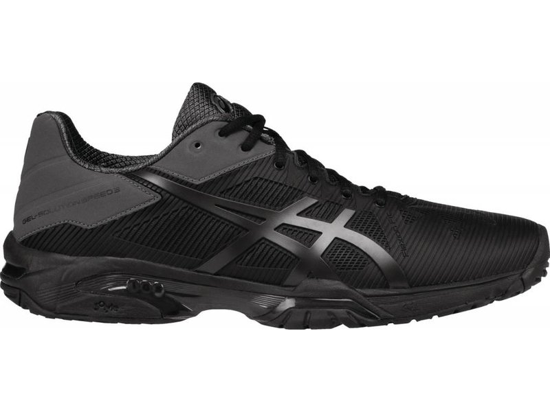 Asics Gel Solution Speed 3 Black/Grey Men's Shoes