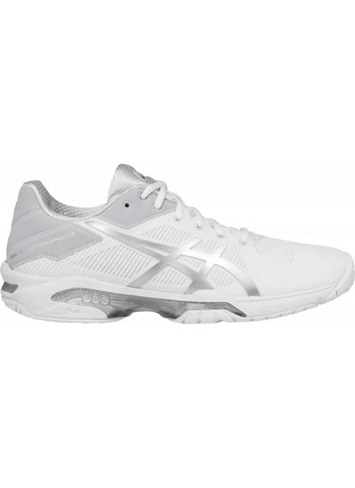 Asics Gel Solution Speed 3 White/Silver Women's Shoe