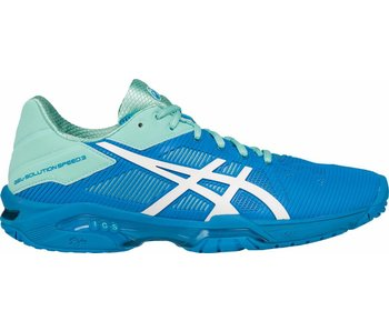 Asics Gel Solution Speed 3 Aqua Splash/Wht/Diva Blue Women's Shoe