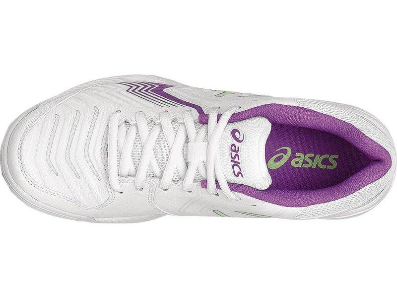 Asics Gel Game 6 White/Green/Campanula Women's