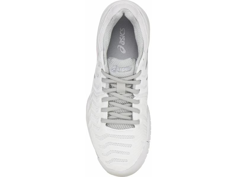 Asics Gel Resolution 7 White/Silver Women's Shoe