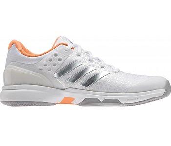 Adidas Adizero Ubersonic 2 W Wh/Si/Or Women's Shoes