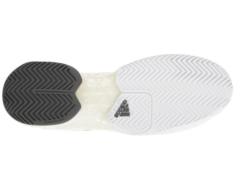 Adidas Barricade 2017 White/Grey Men's Shoe