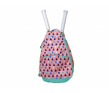 All For Color Tennis Backpack Sand Castles