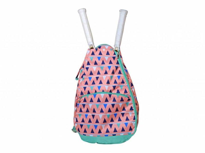 All For Color Tennis Backpack Sand Castles