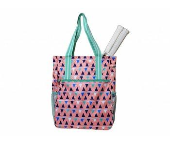All For Color Tennis Shoulder Bag Sand Castles
