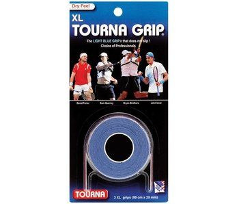TournaGrip Overgrip XL 3 Pack Blue