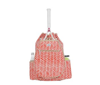 Ame & Lulu Kingsley Tennis Backpack Tango