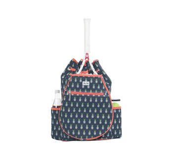 Ame & Lulu Kingsley Tennis Backpack Pineapple