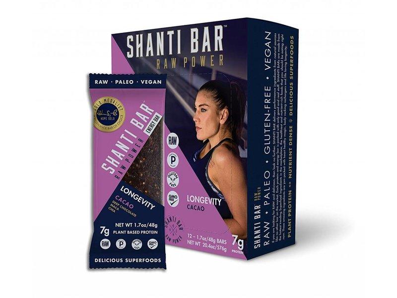 Shanti Bar Cacao Longevity