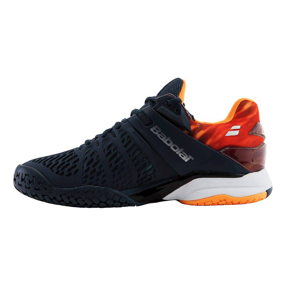 Orange Court Shoe Mens