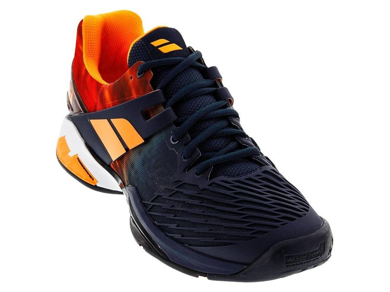 Babolat Propulse Fury Grey/Orange Men's Shoes