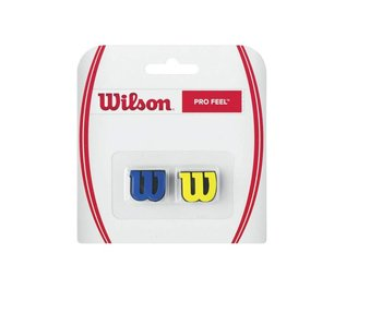 Wilson Pro Feel Dampener Pair Blue & Yellow