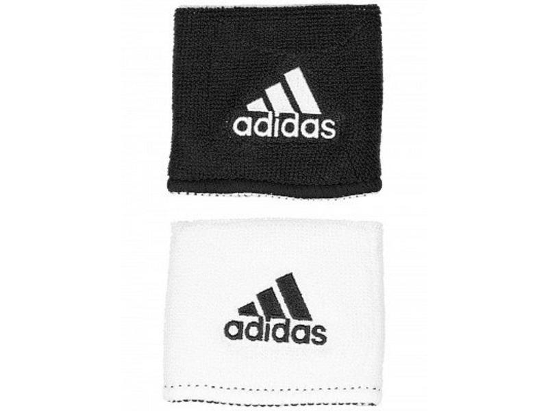 Adidas Interval Small Reversible Wristband Black/White