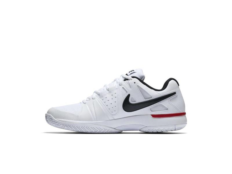 ... Nike Air Vapor Advantage White/Black/Red Men's ...