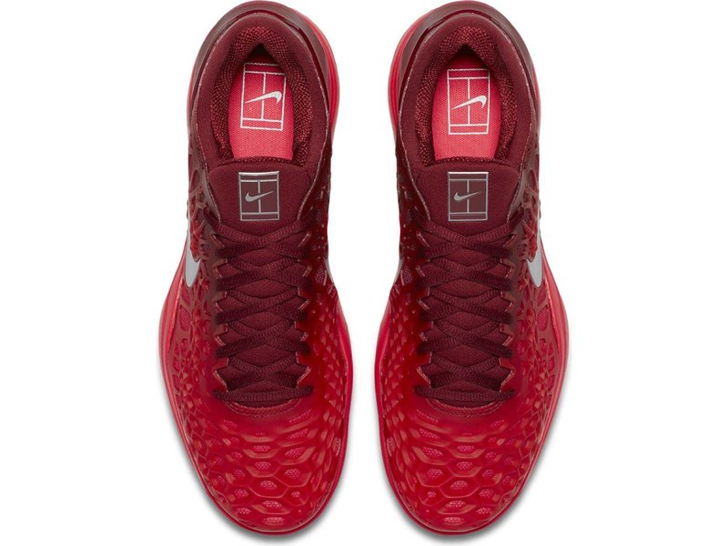 Nike Zoom Cage 3 HC Red/Silver/Red Men's