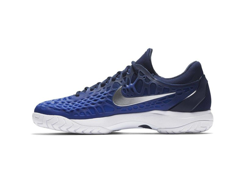 Nike Zoom Cage 3 HC Navy/Silver Men's Shoe