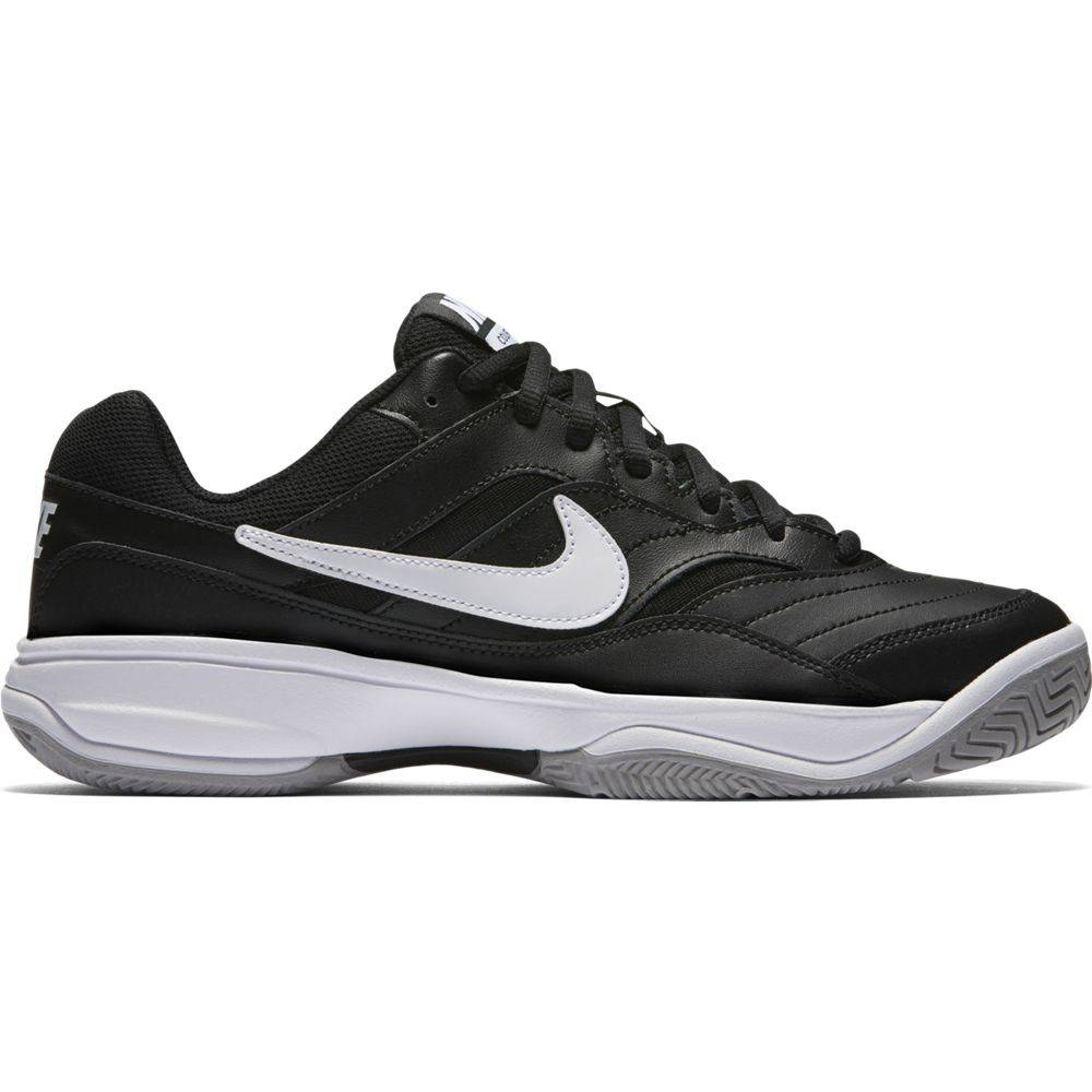 Nike Court Lite Black Grey White Mens Shoe Tennis Topia