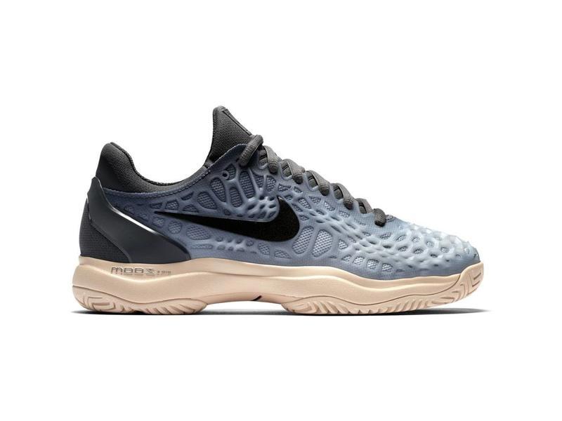 ... Shoe Nike Zoom Cage 3 HC Grey/Orange Women's ...