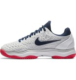 Nike Zoom Cage 3 HC White/Navy/Red Women's Shoe
