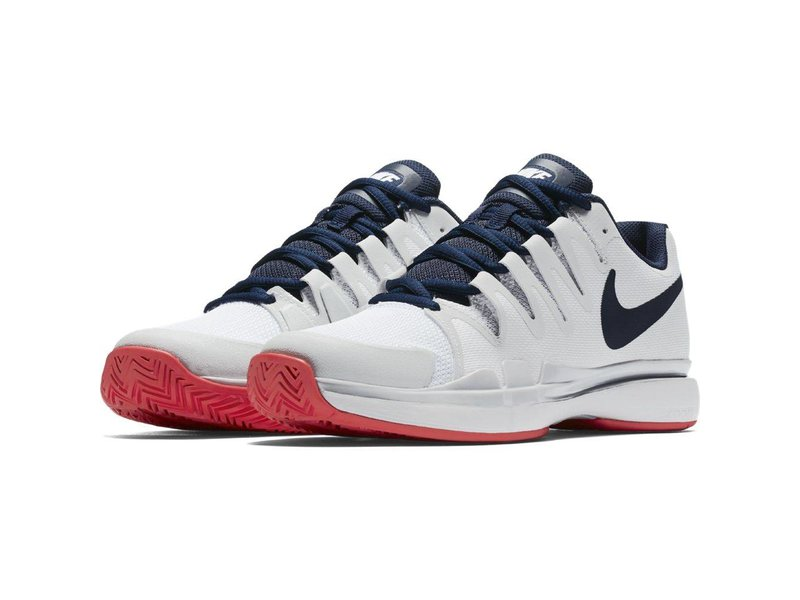Nike Women's Zoom Vapor 9.5 Tour White/Binary Blue