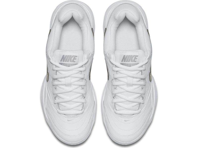 Nike Court Lite White/Grey/Silver Women's Shoe