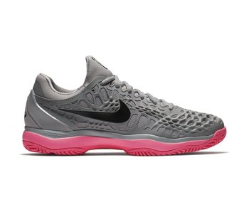 Nike Zoom Cage 3 HC Grey/Pink Men's Shoe
