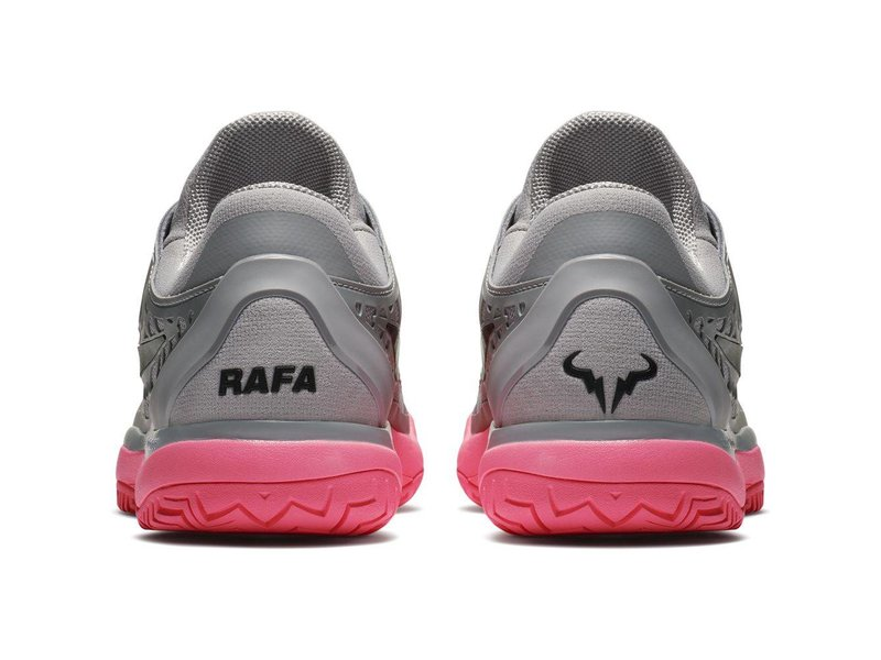 Nike Zoom Cage 3 HC Grey/Pink Men's Shoe