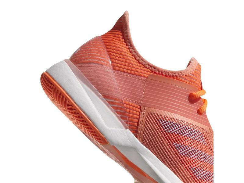 Adidas Adizero Ubersonic 3 Coral/White Women's Shoe