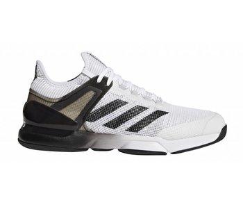 Adidas Adizero Ubersonic 2 White/Black Men's