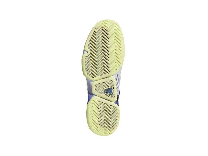 Adidas Adizero Ubersonic 2 Grey/Violet/Yellow Men's Tennis Shoe