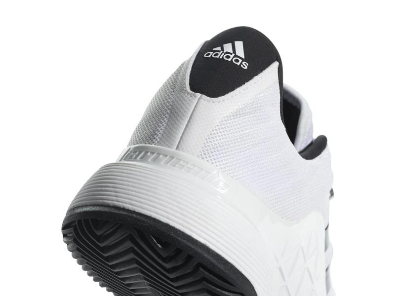 Adidas Barricade 2018 White/Black Men's Shoe