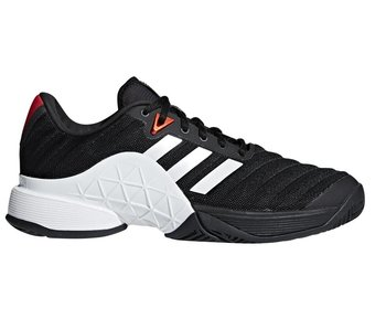 Adidas Barricade 2018 Black/White Men's Shoe