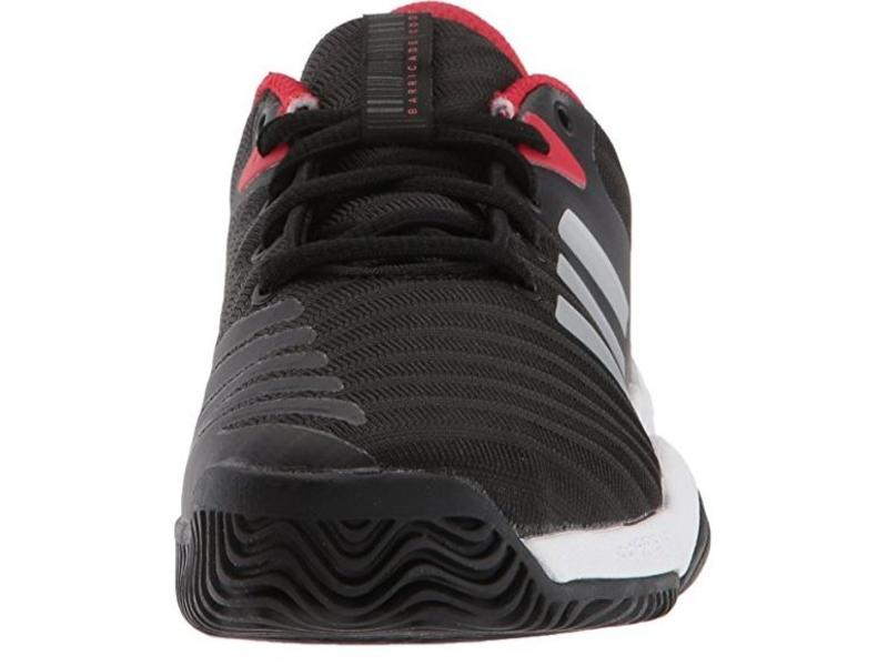 Adidas Barricade 2018 xJ Black/Red Junior Shoes