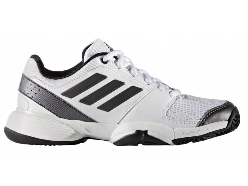 Adidas Barricade Club xj Junior Shoe White/Black