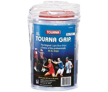 Tourna Overgrip XL 50 Pack Blue