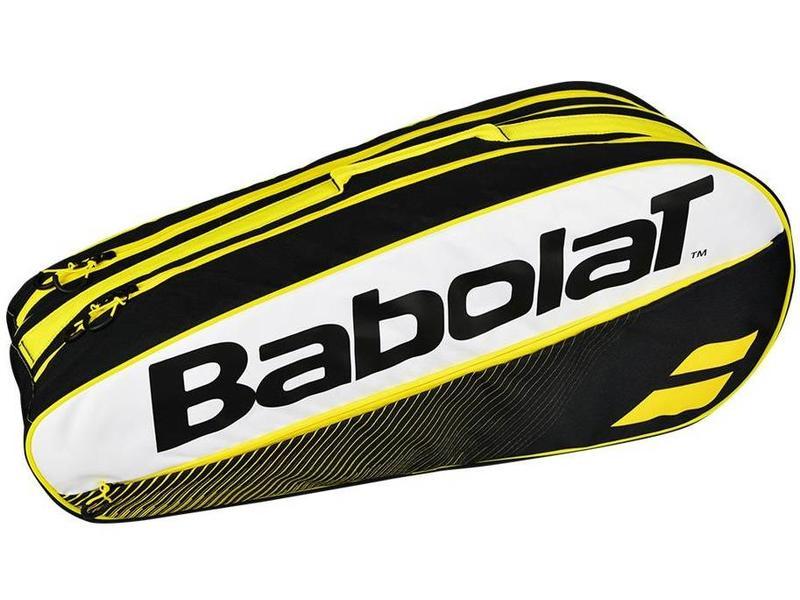 Babolat Club Classic 6 Pack Tennis Bag Yellow