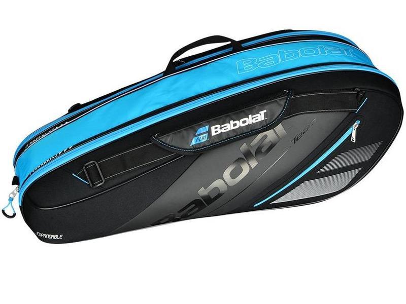 Babolat Team Line Black/Blue 6 Pack Expandable Bag