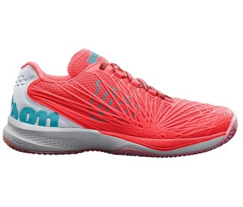 Wilson Kaos 2.0 Fiery Coral/ White/ Blue Women's Shoe