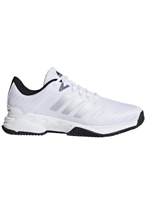 Adidas Barricade Court 3 Wide White/Silver Men's Shoe
