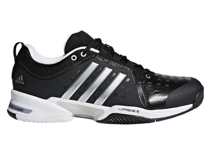 Adidas Barricade Classic Wide (4E) Black/Silver Men's Shoe